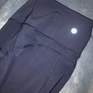 Lululemon all the right places leggings navy blue